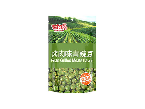 甘源烤肉味青豌豆