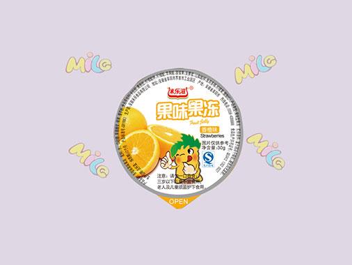 米乐滋果冻香橙味