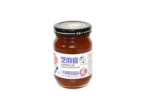 芝麻官什锦果酱罐头190g