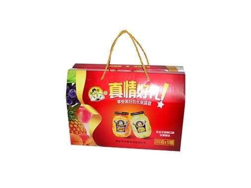 芝麻官水果罐头礼盒
