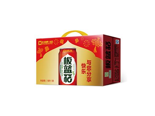 正大12罐板蓝花植物饮料(喜庆装礼盒)