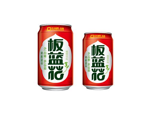 正大板蓝花植物饮料(喜庆装)310ml