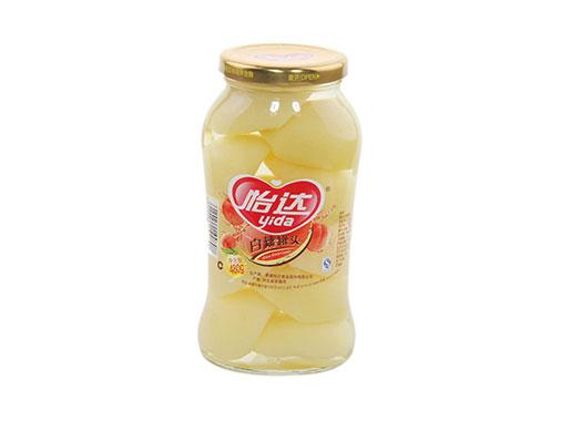 怡达白桃罐头