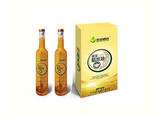 硒海黄金稻米油