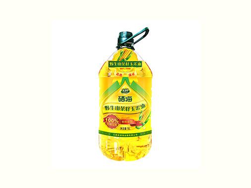 硒海山茶籽玉米油