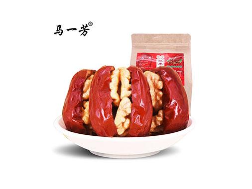马一芳 红枣夹核桃黄金组合250g