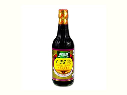 美富达1.38纯酱油