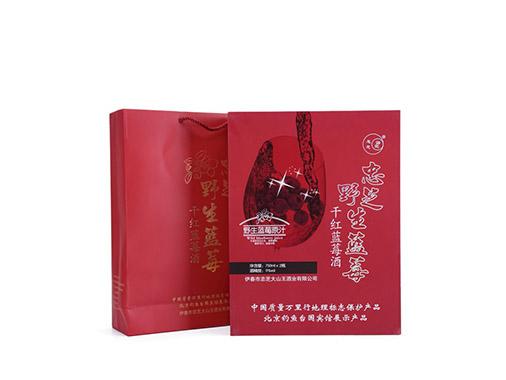 中畅佳禾干红蓝莓酒礼盒