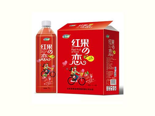 浩明红果恋山楂果肉饮料