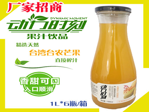动力时刻芒果风味饮料