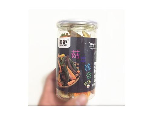 徽范菇菜综合果蔬干脆片
