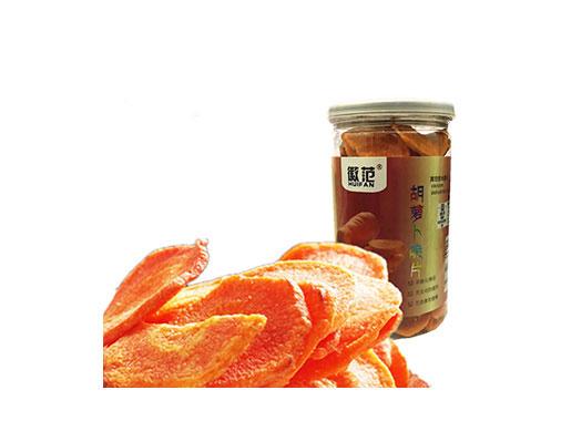 徽范胡萝卜脆片