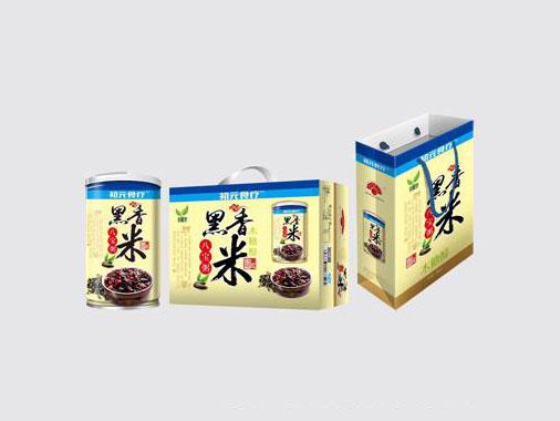 初元食疗黑香米木糖醇八宝粥