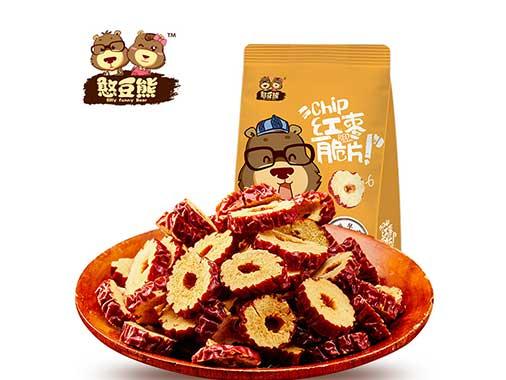 憨豆熊红枣脆片