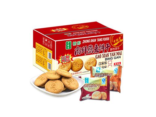 中膳堂高纤燕麦饼干