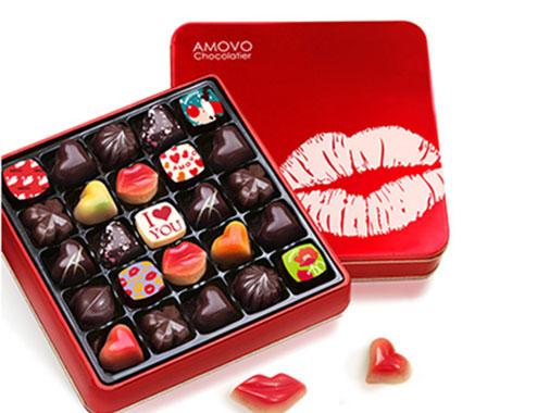 amovo魔吻黑巧克力