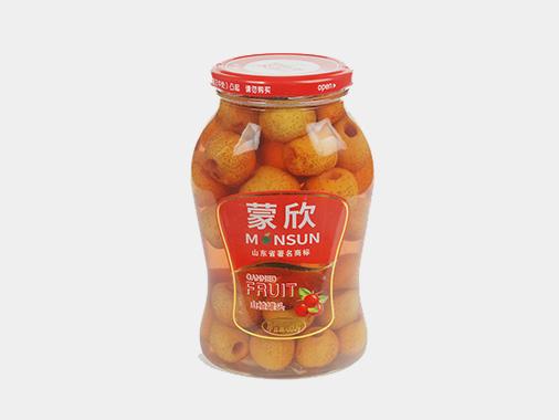 蒙欣山楂罐头