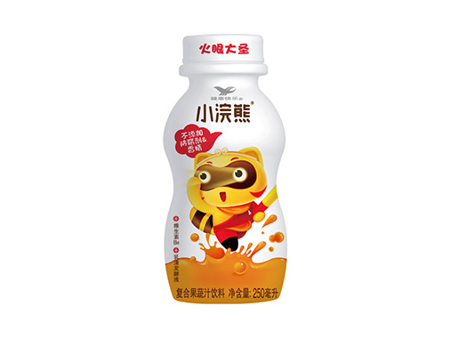 小浣熊胡萝卜橙复合果蔬汁饮料