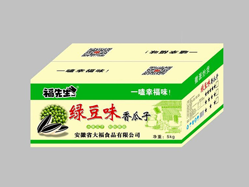 福老师绿豆味香瓜子