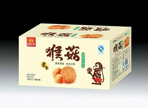 谷部一族猴菇味酥性饼干