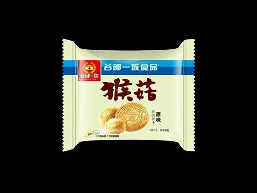 谷部一族猴菇原味饼干