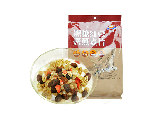 荣怡黑糖红豆烤燕麦片