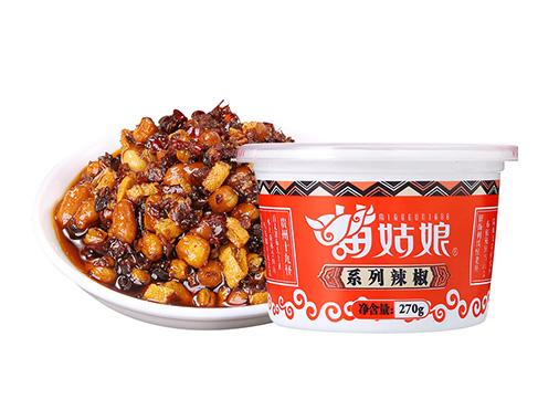 苗姑娘大豆花生風味五脆辣椒