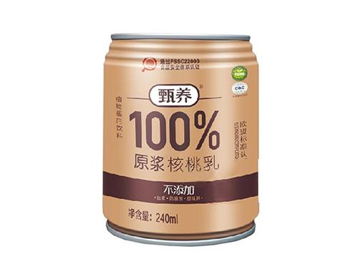 甄养原浆100%核桃乳