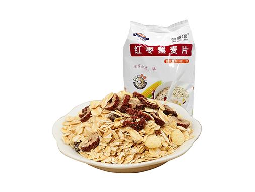 荣怡红枣燕麦片