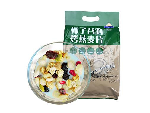 荣怡椰子谷物烤燕麦片