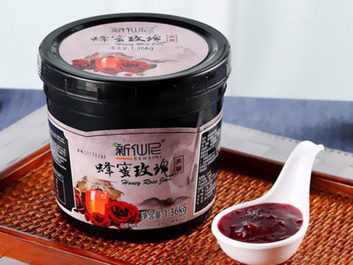 新仙尼蜂蜜玫瑰果醬