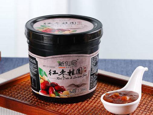 新仙尼红枣桂圆果酱