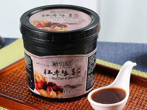 新仙尼生姜红枣果酱