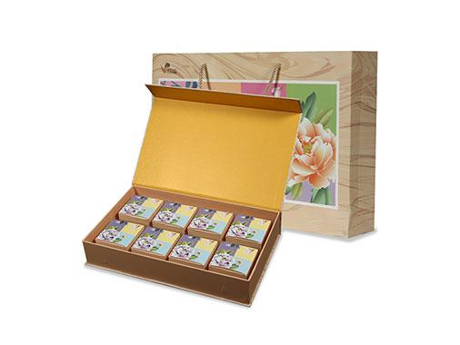 巴莉甜甜花鸟风月月饼礼盒