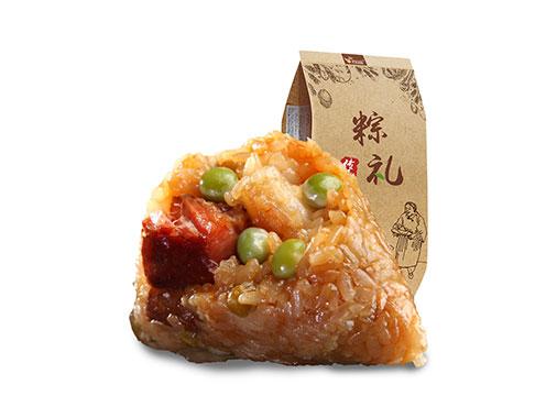 巴莉甜甜豌豆腊肉粽