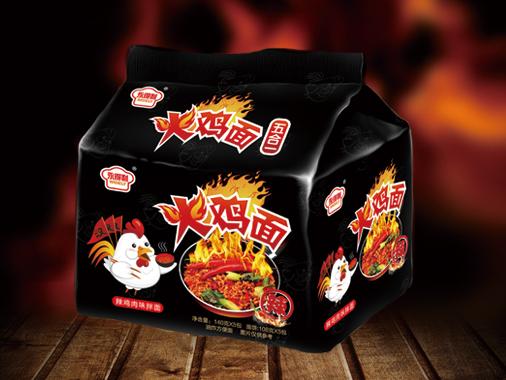 永得利辣鸡肉味火鸡面