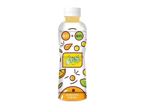 美粒多橙粒柚粒復合果粒風味飲料