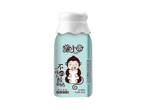 猴小囧荔枝+葡萄复合果味益生菌酸奶