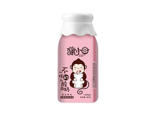 猴小囧牛奶+蓝莓复合果味益生菌酸奶