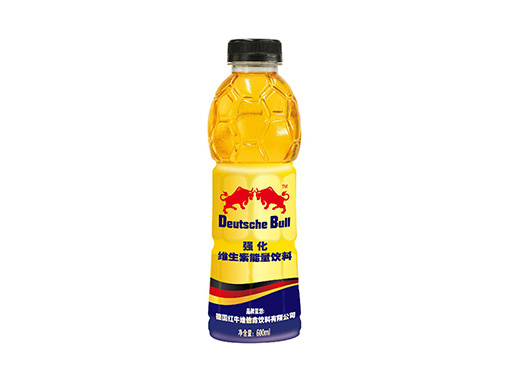 Deutsche Bull强化维生素功用饮料瓶装
