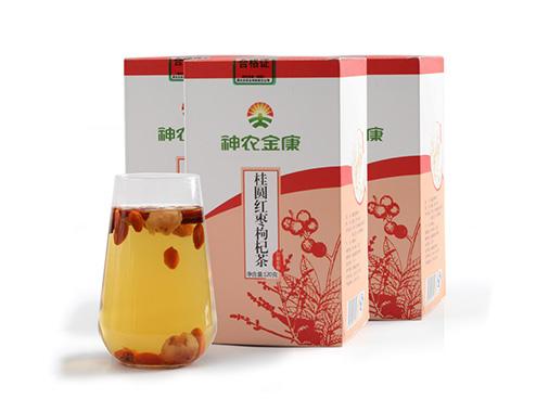 神农金康桂圆红枣枸杞茶