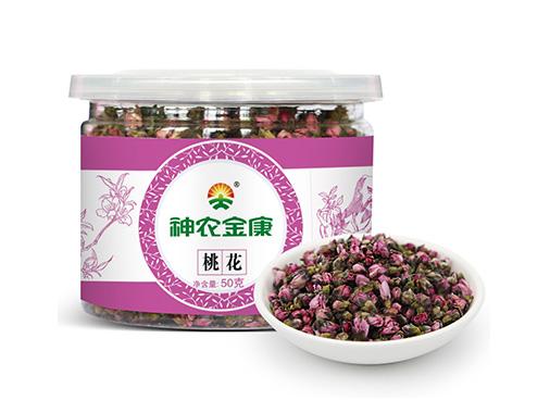 神农金康桃花茶
