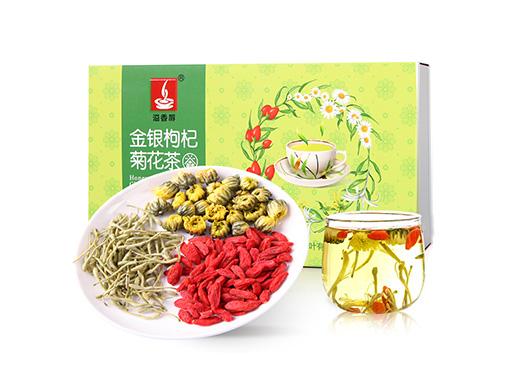 溢香醇金银枸杞菊花茶