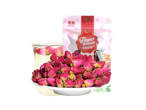 贡苑玫瑰花茶