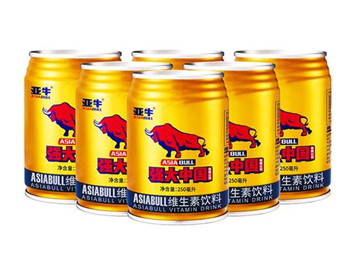 亚牛弱小中国维生素饮料