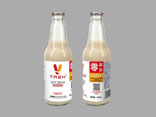 trek豆奶饮料玻璃瓶