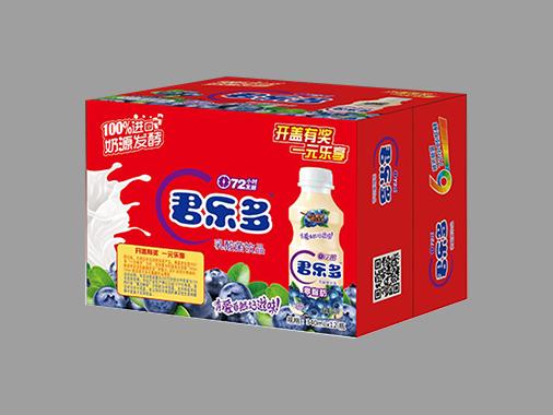 君乐多乳酸菌饮品蓝莓味