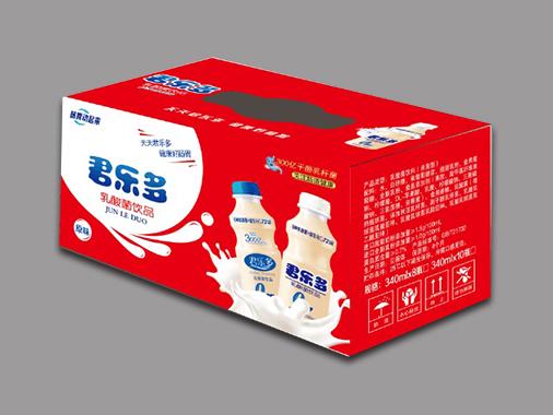 君乐多原味乳酸菌饮品