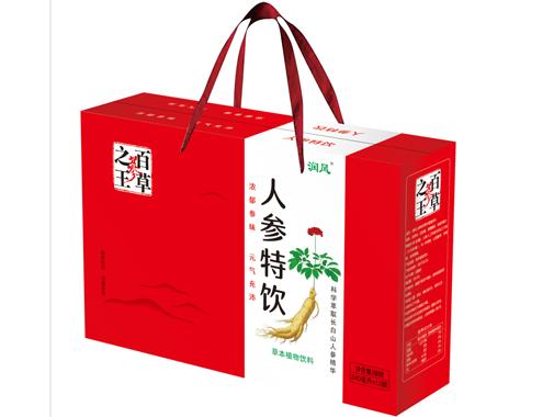 润风人参特饮礼品盒