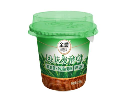 蘆薈果粒發酵乳